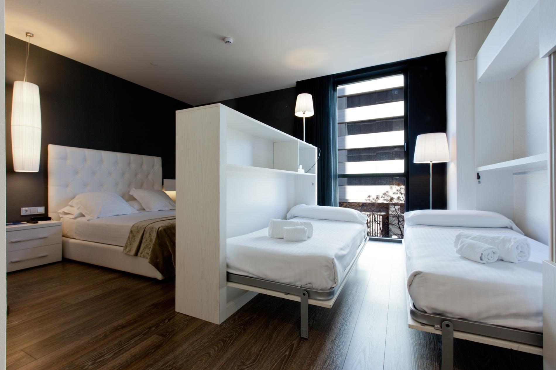 Vacanze con i bambini for Hotel barcelona habitacion familiar